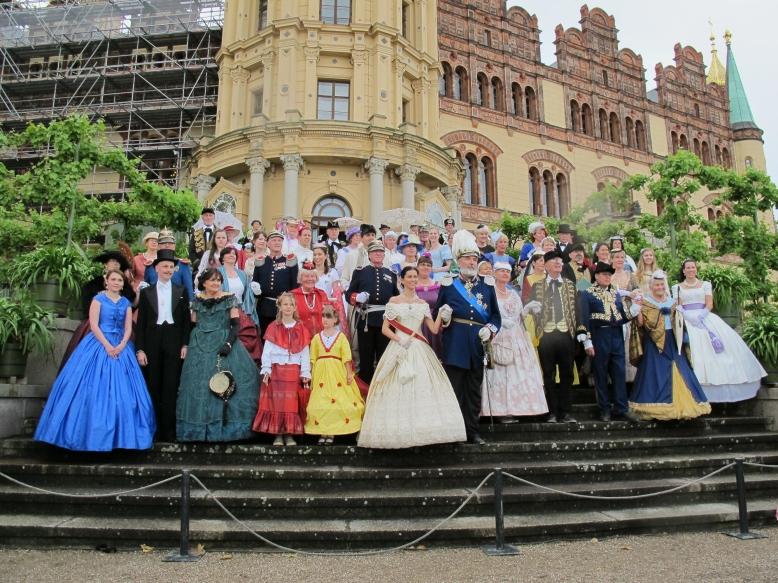 Der Schlossverein beim Schlossfest 2015