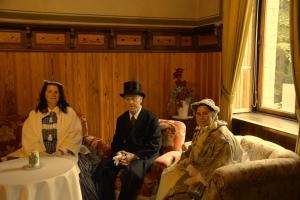 Schlossvereinsmitglieder in Gelbensande