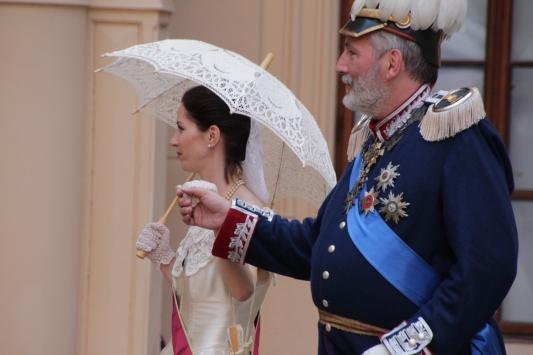 Ihre königlichen Hoheiten das Großherzogliche Paar